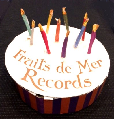 Fruits de Mer Records cake again