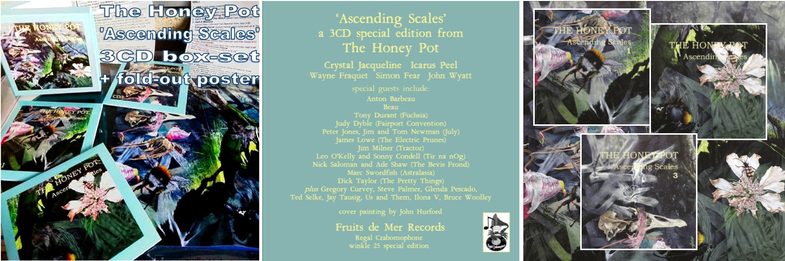 Ascending Scales 3CD set