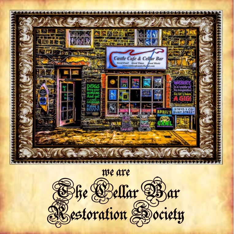 We Are The Cellar Bar Restoration Society