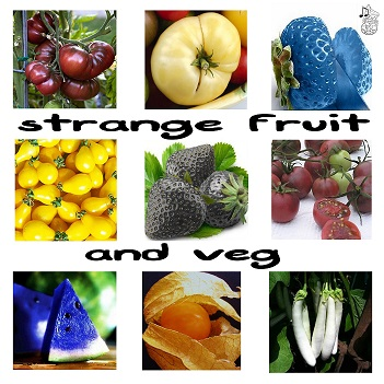 strange fruit and veg