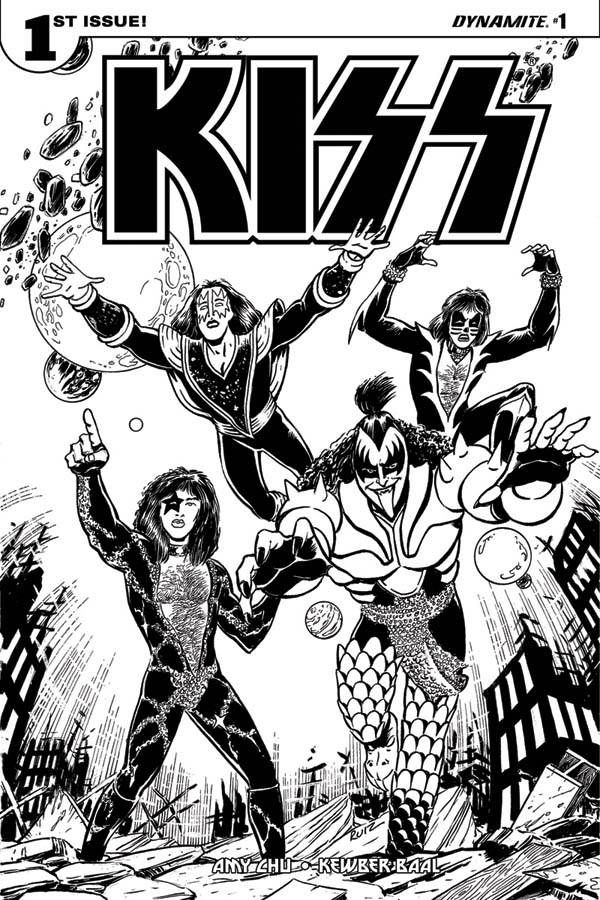 Kiss cartoon