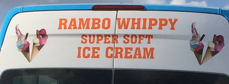 Rambo Whippy close-up