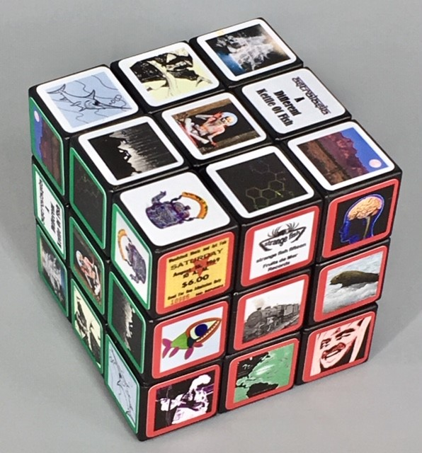Astralasia - a different kettle of fish rubiks cube